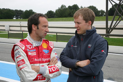 Marco Werner et Mattias Ekström