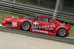 #98 Ice Pol Racing Team Ferrari F430 GT: Yves Lambert, Christian Lefort, Fred Bouvy