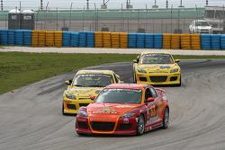 #63 Roar Racing Mazda RX-8: Charles Espenlaub, Andy Brumbaugh