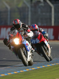 #100 Team Endurance Moto 45 Suzuki: N. Jaulneau, C. Louvel, J. Esnault, Ch. Marcon