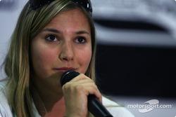Conférence de presse du jeudi: Simona De Silvestro