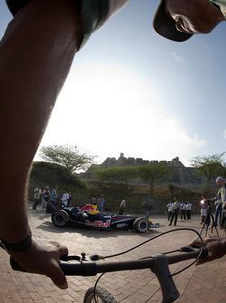 Red Bull Racing Showcar in Columbia