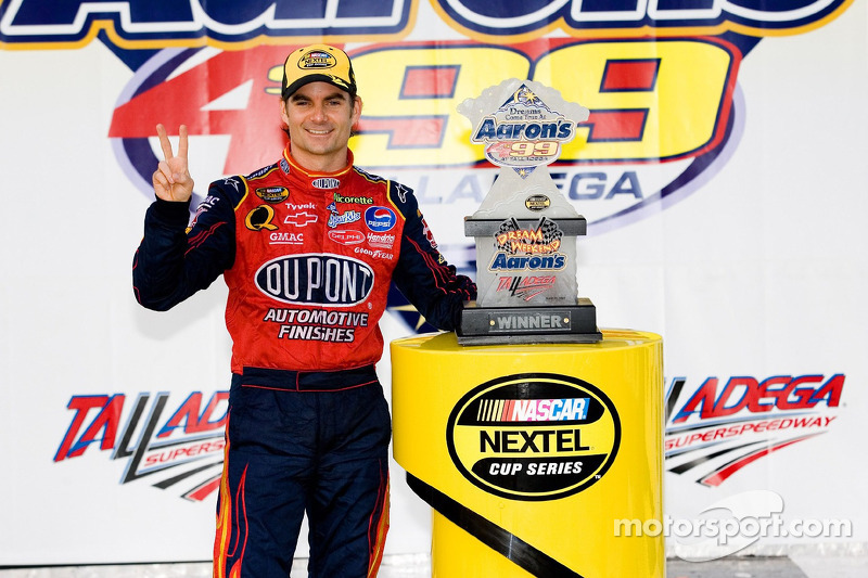 2007, Talladega 1: Jeff Gordon (Hendrick-Chevrolet)