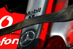 McLaren Mercedes new front wing