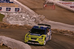 Маркус Гренхольм и Тимо Раутиайнен, BP Ford, Ford Focus WRC