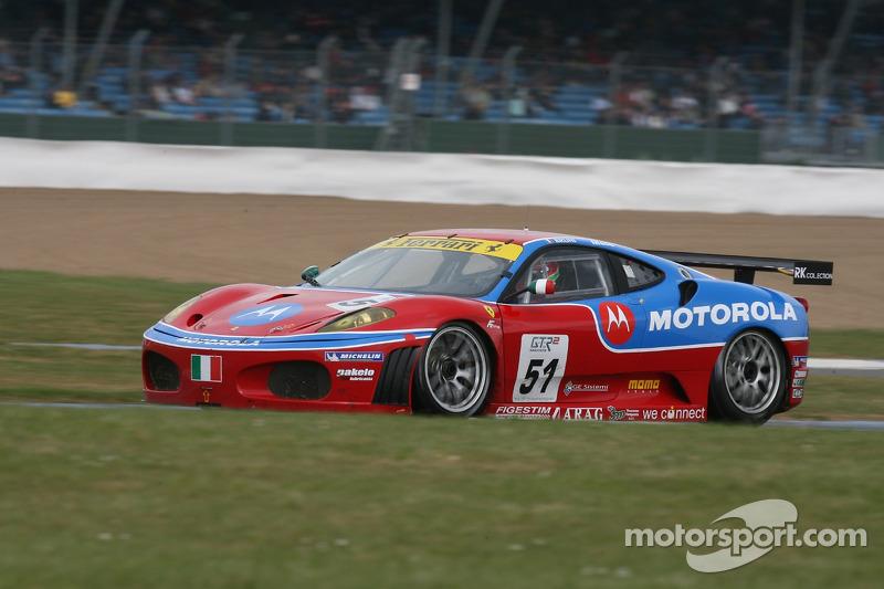#51 AF Corse Motorola Ferrari 430 GT2: Gianmaria Bruni, Jaime Melo