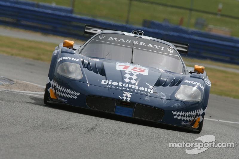 #15 JMB Racing Maserati MC 12 GT1: Dirk Waaijenberg, Peter Kutemann