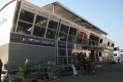 Red Bull racing and Toro Rosso Motorhome
