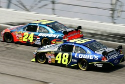 Jeff Gordon y Jimmie Johnson