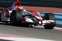 James Rossiter, Test Pilotu, Super Aguri F1 Team