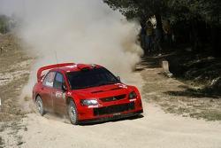 Gianluigi Galli and Giovanni Bernacchini, Citroen Xsara WRC