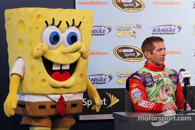 Spongebob Squarepants mit Greg Biffle, Roush Fenway Racing, Ford
