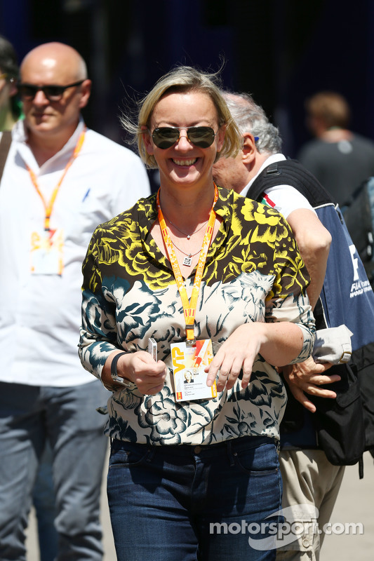 Sabine Kehm, Manager of Michael Schumacher