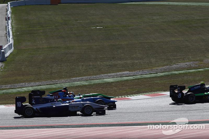 方骏宇,Koiranen GP, Ralph Boschung, Jenzer Motorsport & Seb Morris, Status Grand Prix