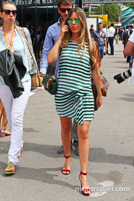 Vivian Rosberg, moglie di Nico Rosberg, Mercedes AMG F1