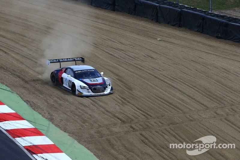 #74 ISR Audi R8 LMS ultra: Anders Fjordbach, Thomas Fjordbach