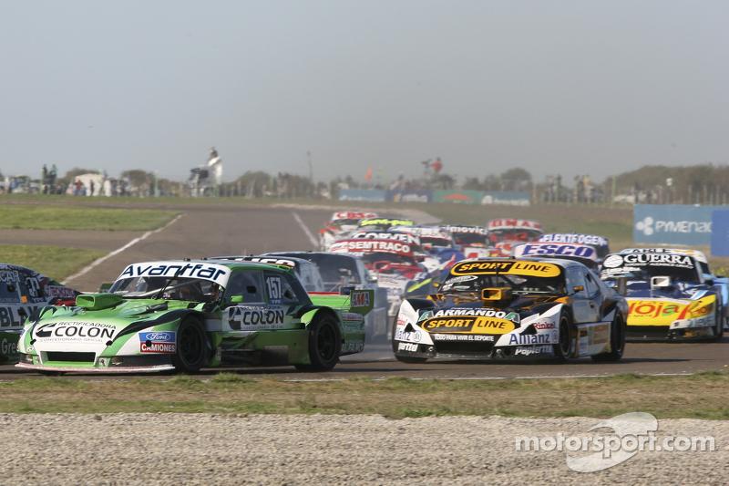 Juan de Benedictis, Alifraco Sport, Ford, und Leonel Pernia, Las Toscas Racing, Chevrolet