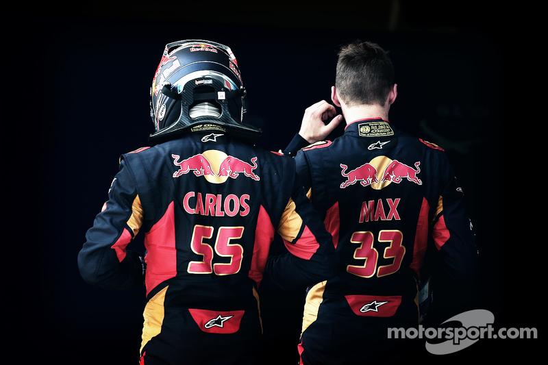 Карлос Сайнс мол., Scuderia Toro Rosso, Макс Ферстаппен, Scuderia Toro Rosso