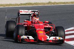 Raffaele Marciello, Ferrari SF15-T avec des équipements de télémétrie