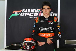 Esteban Ocon, Sahara Force India F1 Team Piloto de pruebas