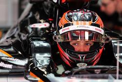 Esteban Ocon, Sahara Force India F1 VJM08 Piloto de pruebas