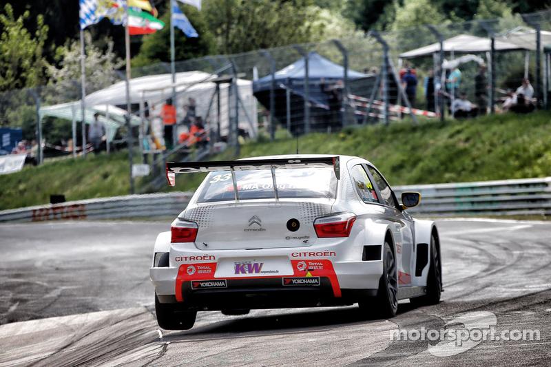 Qing-Hua Ma, Citroën C-Elysée WTCC, Citroën Racing