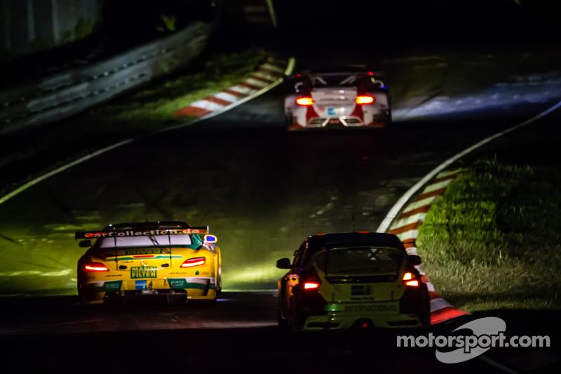 #31 Car Collection Motorsport, Mercedes-Benz SLS AMG GT3: Peter Schmidt, Alexander Mattschull, Pierre Ehret