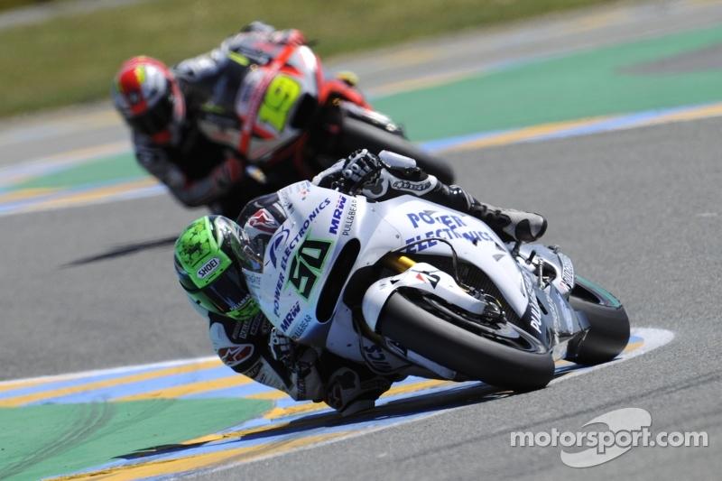 Eugene Laverty, Aspar Racing Team, Honda, und Alvaro Bautista, Aprilia Racing Team Gresini
