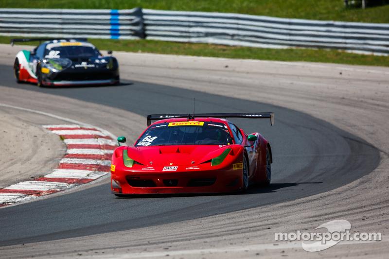 #64 Scuderia Corsa, Ferrari 458 Italia: Duncan Ende