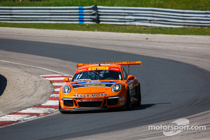#11 Kelly-Moss Motorsports Porsche 911 GT3 Cup: Colin Thompson