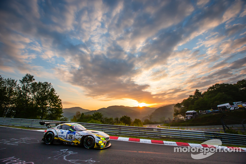 #26 Marc VDS Racing BMW Z4 GT3: Augusto Farfus, Jörg Müller, Nicky Catsburg, Dirk Adorf