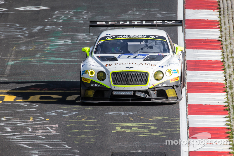 #11 Bentley Team HTP Bentley Continental GT3: Harold Primat, Christopher Brück, Clemens Schmid, Marco Seefried