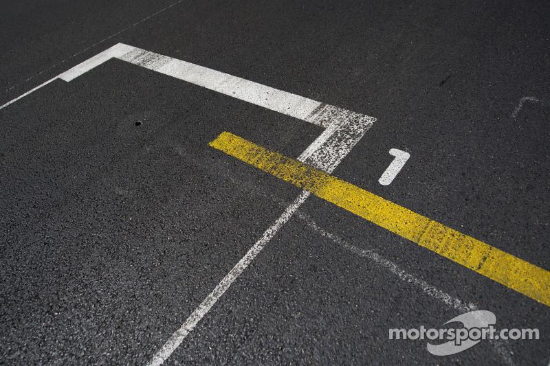 the pole position slot on the grid at monaco gp. Black Bedroom Furniture Sets. Home Design Ideas
