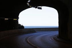 A view through a tunnel