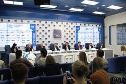 Пресс-конференция Формулы Е в Москве