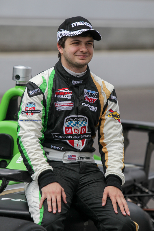 Polesitter Ethan Ringel, Schmidt Peterson Motorsports