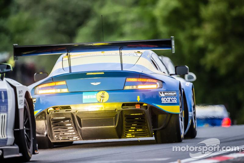 #7 Aston Martin Racing, Aston Martin Vantage GT3: Stefan Mücke, Darren Turner, Pedro Lamy, Richie Stanaway