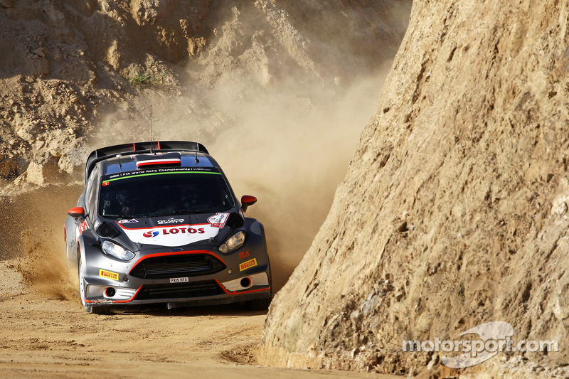 Robert Kubica and Maciej Szczepaniak, Ford Fiesta RS WRC  RK M-Sport World Rally Team