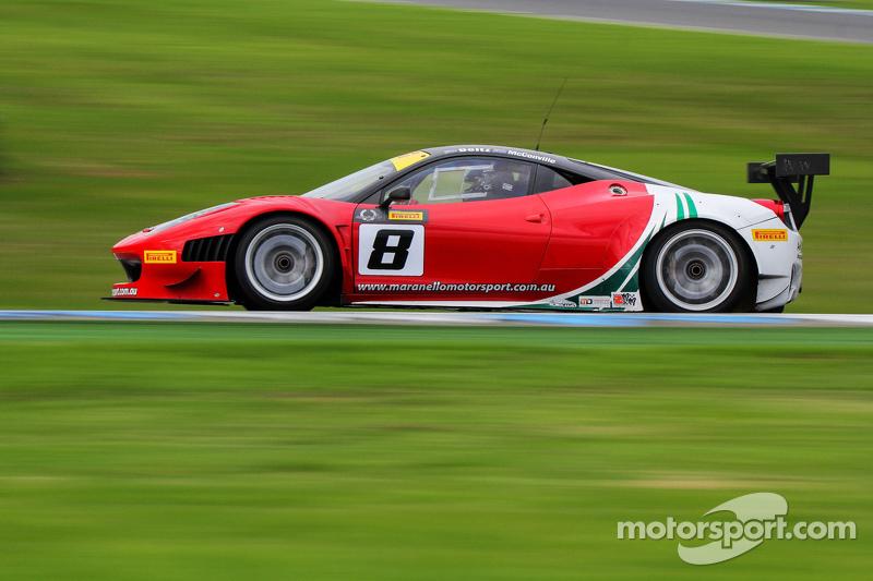 Adrian Deitz, Cameron McConville, Ferrari 458 GT3