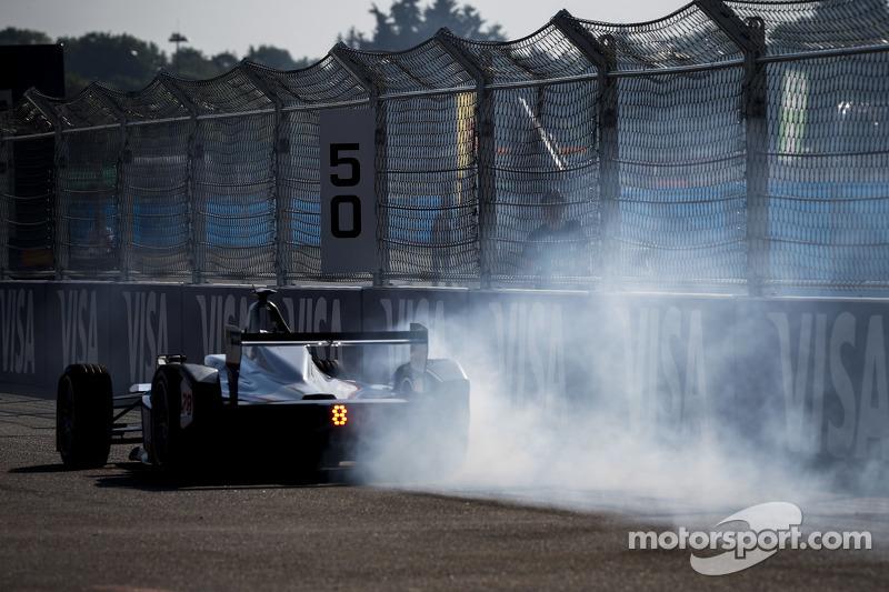 Scott Speed, Andretti Autosport, in Schwierigkeiten