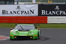 #19 GRT Grasser Racing Team Lamborghini Huracan: Ендрю Палмер, Fabio Babini, Jeroen Mul