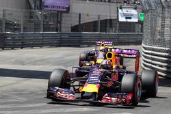 Daniil Kvyat et Daniel Ricciardo, Red Bull Racing RB11