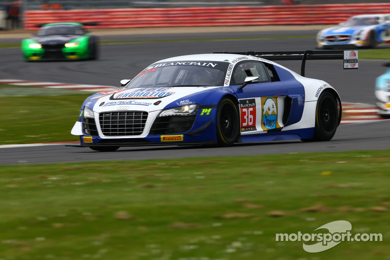 #36 Sainteloc Racing, Audi R8 LMS Ultra: Gilles Lallemant, Jean-Paul Buffin, Georges Cabanne