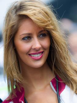 Marc VDS Racing grid girl
