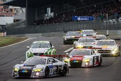 #28 Audi Sport Team WRT Audi R8 LMS: Крістофер Міс, Едвард Сандстрои, Ніко Мюллер, Лауренс Вантор