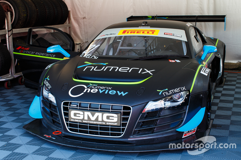 #21 Global Motorsports Group Racing, Audi R8 LMS Ultra: David Welch