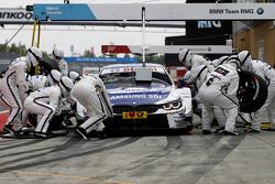 Пит-стоп Максима Мартина, BMW Team RMG BMW M4 DTM