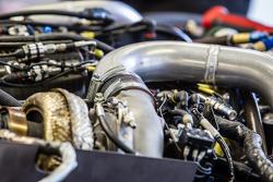 #21 Nissan Motorsports detail mesin Nissan GT-R LM NISMO