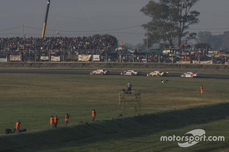 Juan Manuel Silva, Catalan Magni Motorsport, Ford; Matias Rossi, Donto Racing, Chevrolet; Juan Pablo