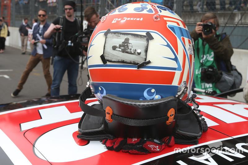 Helm von Timo Scheider, Audi Sport Team Phoenix, Audi RS 5 DTM